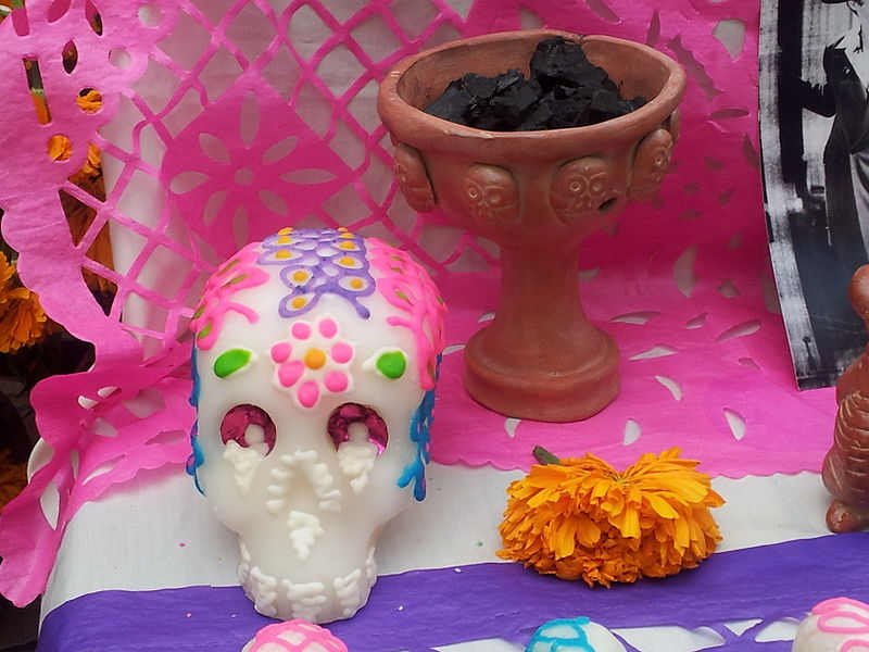 Day of the Dead via Wikimedia